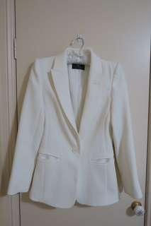 Cue white blazer (near new)