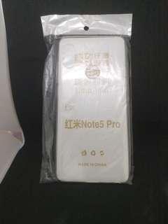 🚚 紅米Note5矽膠透明手機套
