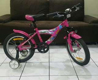 Pre-loved: Girl's Bike (only used 2x)