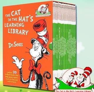 Dr Seuss Cat in the Hat's Learning Library —20books set promo