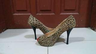 Noche Leopard Highheels