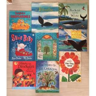 Children's Books (a variety of stories)