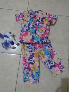Pjamas little pony