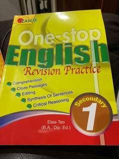 English Revison Practice Sec 1