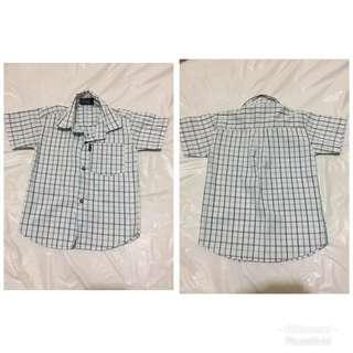 White polo (4-7 years old)