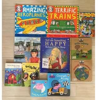 Children's Books (variety of stories)