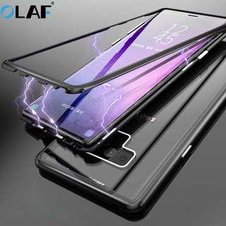 Instock Ipaky Samsung note 9 Case 360 Metal note 8 Case