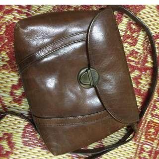 Pelco Genuine Leather sling bag
