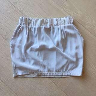 Preloved Silver Blue MNG Skirt
