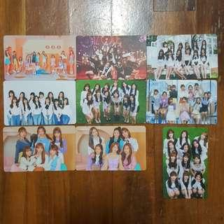 [WTS/INSTOCK] iz*one izone unofficial photocards lomocard lomo pc