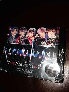 Sexy Zone presents Sexy Tour 2017~STAGE 演唱會 藍光 通常盤