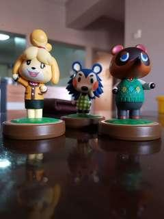 Animal Crossing Amiibo (3 pcs)
