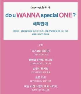 Wanna One Dicon Magazine
