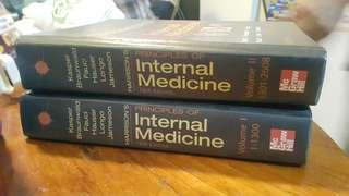 Harrison's Principles of Internal Medicine Volume 1 and 2