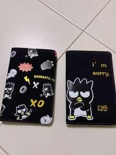 Bad badtz maru passport cover/holder (R24)