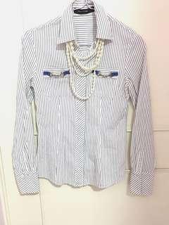 🚚 G2000 Woman 長袖襯衫 S號