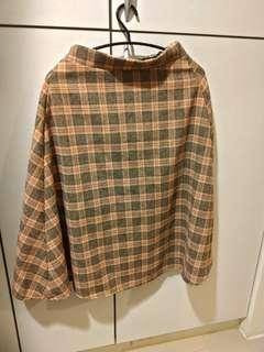 🚚 冬季厚格子裙
