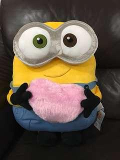 Brand new minion with love plush stuff soft toy for cheap sale!
