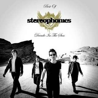 Stereophonics Decade in The Sun 2008 deadstock