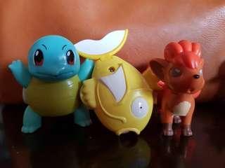 Pokemon - Mcdonald's Happy Meal Toys (3 pcs)