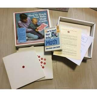 Glen Doman - How to Teach Your Baby Math Kit