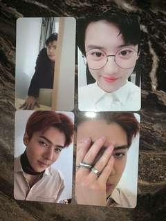 EXO Chanyeol Sehun tempo universe official photocard