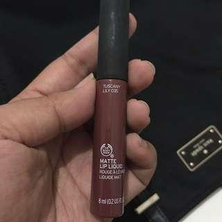 The Body Shop - Matte Lip Liquid