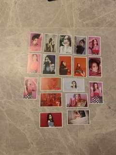 Blackpink Jisoo Lomo Card
