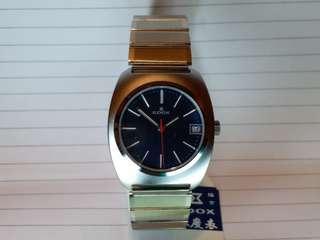 Edox 瑞士制,依度錶,手動上鏈,連冠的約35mm,boy size, 男女適宜,約70s 至80s生產,有原庄盒