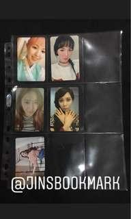 Girl Group Official Photocards - SNSD F(X) MAMAMOO RED VELVET