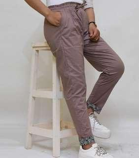 All Size fit to XXL CELANA POLOS KOMBINASI PREMIUM ORI