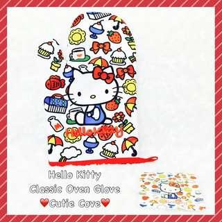 *IN STOCK IN SG* Hello Kitty Classic Oven Glove