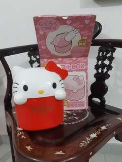 Hello Kitty Diecut Bin Container