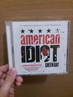 Green Day Broadway 2CD American Idiot