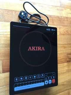 Induction Cooker Akira Brand Used like new