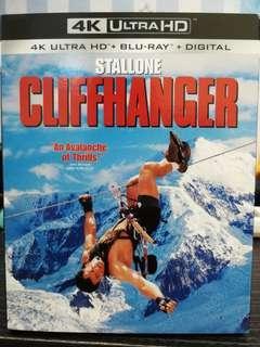 Cliffhanger 4K Ultra HD Blu-ray