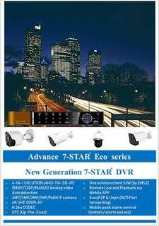 7-STAR* KOREA 4/8/16CH Hybrid Advanced DVR (Full-HD Digital Video Recorder) Enterprise Management Suite,Central Monitoring Client Software, APP:Mobile CMS(Ultra Fast Mobile Remote View/Playback all CH at same time) Support:AHD/TVI/CVI/IP/960H CCTV Camera