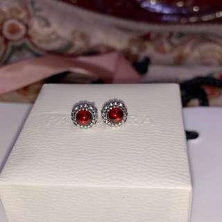 Pandora January Earrings