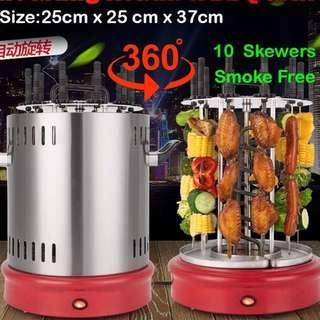 💥electric rotating kebab and bbq grill💥