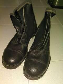 英軍短靴 British army boots Size 7M @1955