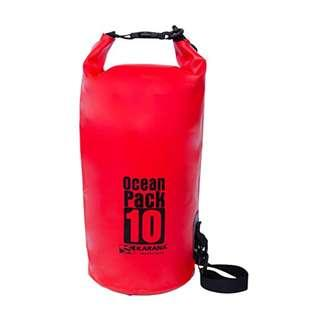 Karana Ocean Pack 10-Litres Dry Bag (112022710), Red Colour