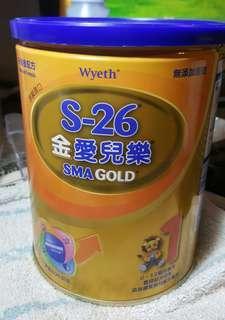 🚚 S26金愛兒樂  1號奶粉