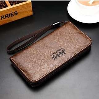 JEEP Long Wallet / Card holder / Wallet /