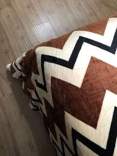 Selimut/Blanket ZigZag Coco (King Size) 🍪