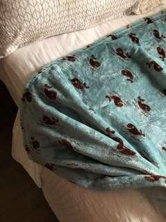 Selimut/Blanket Bluewhale (Queen Size) 🐳