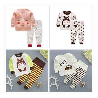 🚚 Clear Stock - Baby Pajamas Per Set S$5