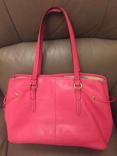 Coach shoulder and handbag