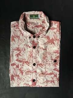 COCO REPUBLIC Button Down Short Sleeve Shirt
