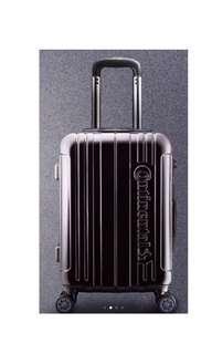 20吋 行李箱 全黑 硬殼 馬牌