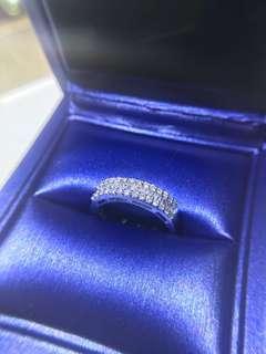 50份18k鑽石戒指💍